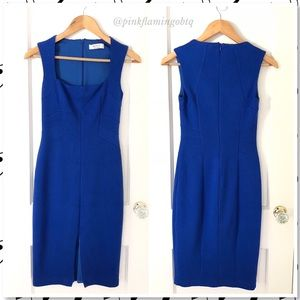 NWOT Bailey/44 Cobalt Blue Bodycon Midi Dress XS